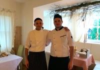 Con Luigi, grandissimo cuoco e compagno di avventure ma soprattutto grande persona e grande amico!